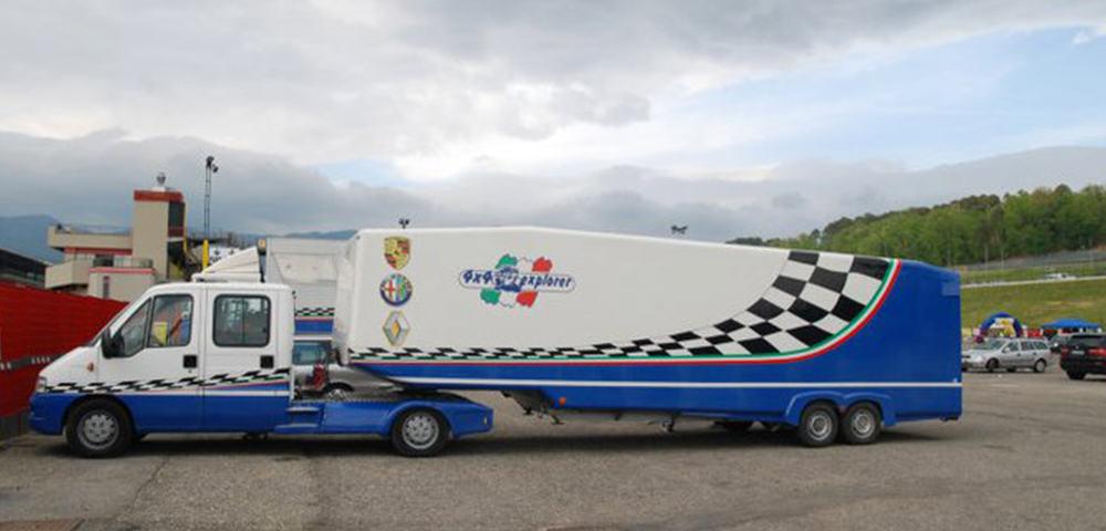 Motorsport noleggio 4x4explorer for Noleggio della cabina del parco cittadino